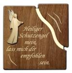 """Spruchtafel """"Heiliger Schutzengel mein"""""""