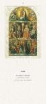 Liturgischer Kalender - Rückwand Die heiligen 14 Nothelfer