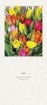 Liturgischer Kalender - Rückwand Blumenstrauß mit Tulpen
