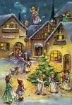 """Adventskalender, Motiv """"Weihnachtsnostalgie"""""""