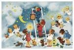"""Adventskalender, Motiv """"Hoch über den Wolken"""""""
