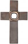 Bronzekreuz - in der Mitte durchbrochen