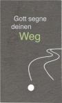 """Schieferplatte """"Gott segne deinen Weg"""""""