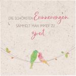 """Natursteinplatte """"Die schönsten Erinnerungen"""""""