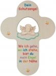 Kinderkreuz mit Schutzengel natur