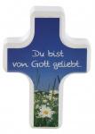 """Handschmeichler Kreuz """"Du bist von Gott geliebt"""""""