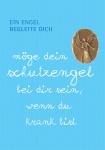 """Mini-Plakette """"Ein Engel begleite dich"""""""