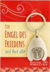 """Schlüsselanhänger """"Ein Engel des Friedens"""", mit Einkaufswagenchip"""