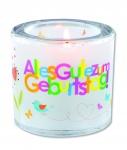 """Glaswindlicht """"Alles Gute zum Geburtstag"""""""
