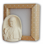 Medaillon Papst Franziskus