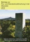 Beiträge zur Flur- und Kleindenkmalforschung in der Oberpfalz 2013
