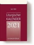 Liturgischer Kalender Einzelblock 2021