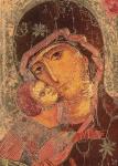 Madonna von Vladimir (Detail)