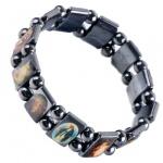 Armband mit 9 verschiedenen Schutzheiligen