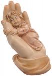 Schützende Hand - Mädchen, Größe 11 cm