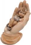Schützende Hand - Junge, Größe 11 cm