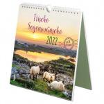 Irische Segenswünsche 2022 - Postkartenkalender