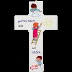 """Kinderkreuz """"Gemeinsam sind wir stark"""""""