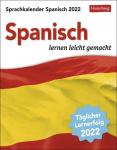 Spanisch Sprachkalender 2022 Tagesabreißkalender