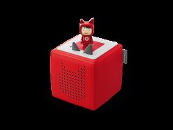 Toniebox - Starterset rot mit Kreativ-Tonie