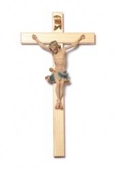 Kreuz aus Eschenholz natur, Balkenlänge 25 cm