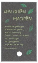 """Schieferplatte """"Von guten Mächten"""""""