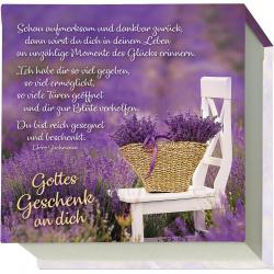 """Notizblock """"Gottes Geschenk an dich"""""""