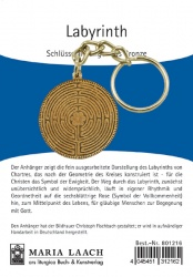 "Schlüsselanhänger ""Labyrinth"""