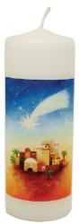 "Kerze ""Stern über Bethlehem"""