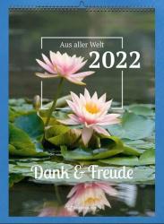 Steyler Bildkalender Dank + Freude 2022
