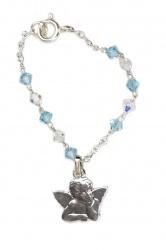 Baby-Armband mit Swarovski-Kristallen