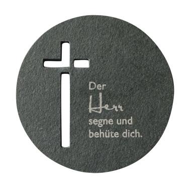 """Schieferplatte """"Der Herr segne und behüte dich"""""""
