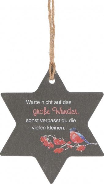 """Schieferanhänger """"Wunder"""""""