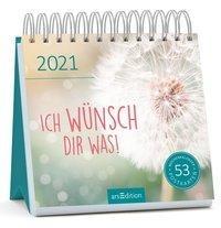 Postkartenkalender Ich wünsch dir was 2021