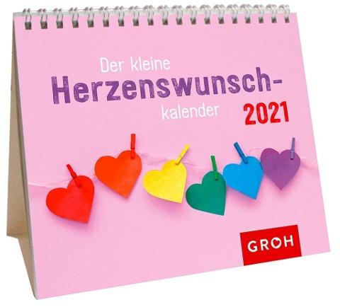 Minikalender Der kleine Herzenswunschkalender 2021