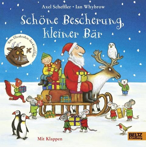 Axel Scheffler, Ian Whybrow: Schöne Bescherung, kleiner Bär
