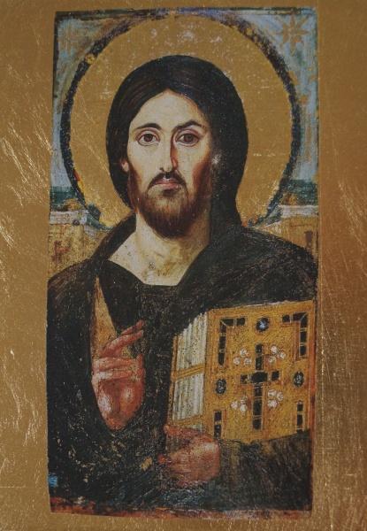 Christus Pantokrator vom Sinai