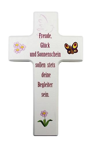 """Kinderkreuz """"Friede, Glück und Sonnenschein"""""""