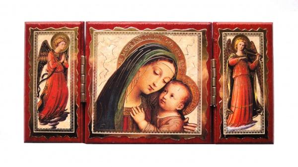 Triptychon aus Holz